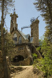 Bishop Castle. In the San Isabel National Forest in southern Colorado stock images