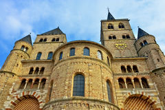 Bishop Cathedral church in Trier Royalty Free Stock Images