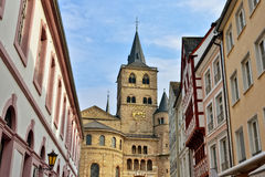 Bishop Cathedral church in Trier Royalty Free Stock Photography