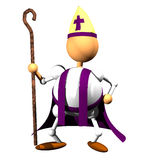 Bishop clipart Lizenzfreie Stockfotos