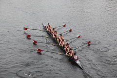 Bishop Eustace Prep School men's Crew Stock Image