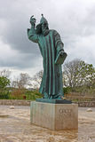 Bishop Gregory. Statue of bishop gregory from Nin stock image