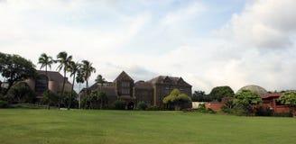 Bishop Museu em um dia agradável fotos de stock