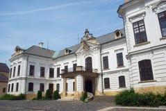 Bishop Palácio, Veszprem, Hungria fotos de stock