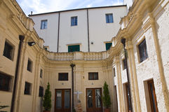 Bishop Palace. Altamura. Puglia. Italy. Royalty Free Stock Image