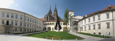 Bishop palace in Brno Royalty Free Stock Photography