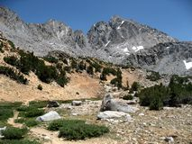 Bishop Pass Trail Royalty Free Stock Photography