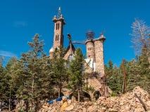 Bishop`s Castle Colorado. Bishop`s Castle located in Colorado stock images