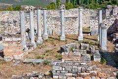 Bishop's Palace in Aphrodisias Royalty Free Stock Image