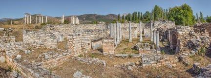 Bishop\'s Palace in Aphrodisias Stock Image