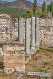 Bishop's Palace in Aphrodisias Stock Photos