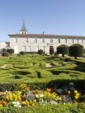 The Bishop`s palace garden. In Castres Royalty Free Stock Photography