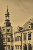 Bishop`s Palace in Kielce. Poland. Old Style Photo Of Bishop`s Palace in Kielce. Poland stock images
