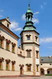 Bishop`s Palace in Kielce. Poland. The tower of Bishop`s Palace in Kielce. Poland Royalty Free Stock Photos