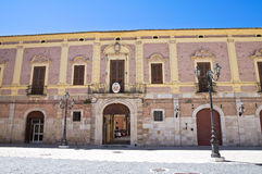 Bishop's palace. Lucera. Puglia. Italy. Stock Photo