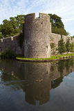 Bishop's Palace and Moat in Wells Royalty Free Stock Images