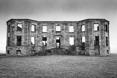 Bishop's Palace ruins, Northern Ireland Stock Photography