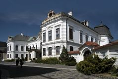 Bishop`s Palace in Veszprem Stock Photo