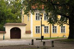 Bishop's residence. Linkoping. Sweden Royalty Free Stock Photo