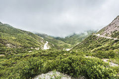 Bishop Slope on Route 40 Salta, Argentina. Royalty Free Stock Photography