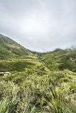 Bishop Slope on Route 40 Salta, Argentina. Royalty Free Stock Photos