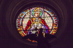 Bishop Stained Glass Basilica Cathedral Andalusia Granada Spain Stock Photography