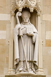 Bishop William Waynflete statue, Eton Stock Images