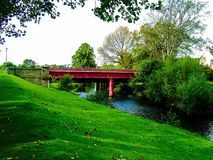 Bishopmill桥梁 免版税库存照片