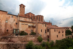 Bishops Castle Siguenza. Castillo de los Obispos de Sigüenza. G Royalty Free Stock Photo