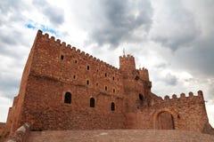 Bishops Castle Siguenza. Castillo de los Obispos de Sigüenza. G Royalty Free Stock Images