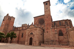 Bishops Castle Siguenza. Castillo de los Obispos de Sigüenza.Gu Royalty Free Stock Photography