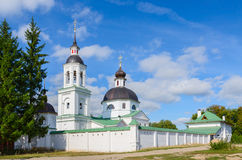 Bishops metochion Michael Archangel Church, village of Lazarevo Stock Photo