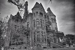 Bishops palace in Galveston Texas. Bishops palace in League City Texas Royalty Free Stock Photos