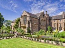 Bishops Palace Gardens Wells Somerset UK Royalty Free Stock Photo
