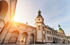 Bishops Palace in Kielce, during sunset. Stock Photography