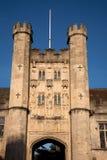Bishops Palace, Wells, England, UK Stock Photo