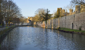 Bishops Palace, Wells Stock Image