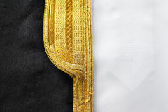 A bisht is a traditional Arabic men's piece of clothes Stock Images