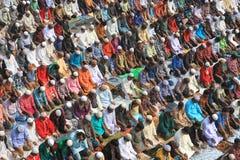 Bishwa Ijtema bei Tongi, Bangladesch Stockfotos