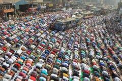 Bishwa Ijtema in Tongi, Bangladesh stock foto