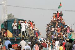 Bishwa Ijtema in Tongi, Bangladesh royalty-vrije stock fotografie