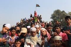 Bishwa Ijtema in Tongi, Bangladesh royalty-vrije stock foto