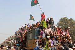 Bishwa Ijtema in Tongi, Bangladesh royalty-vrije stock afbeeldingen