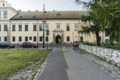 Biskops slott i Krakow Royaltyfri Bild