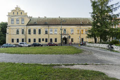Biskops slott i Krakow Royaltyfria Bilder