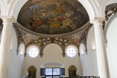 Biskops- slott malaga Arkivbild
