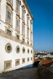 Biskopslott i Porto, Portugal Arkivbilder