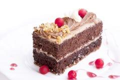 Biskuit der süßen Schokolade stockfotografie