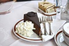 Biskuit-Kuchen Lizenzfreie Stockbilder