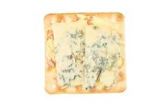Biskuit mit stiton Käse stockbilder